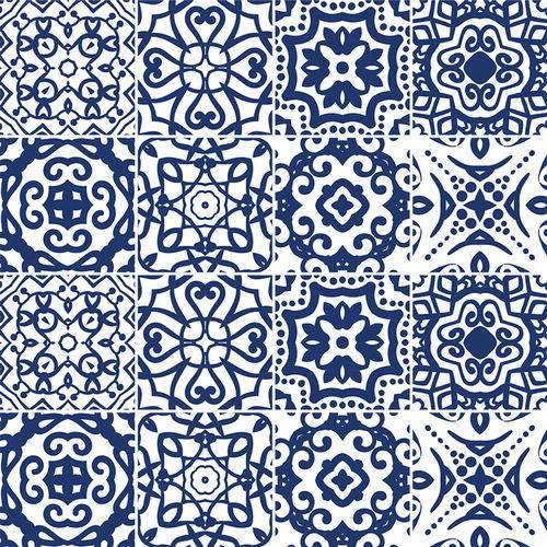 Adesivo de Azulejo - Ladrilho Hidráulico - N1341