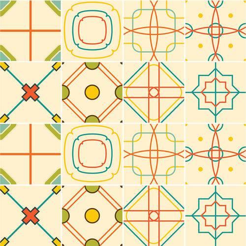 Adesivo de Azulejo - Ladrilho Hidráulico - N1358