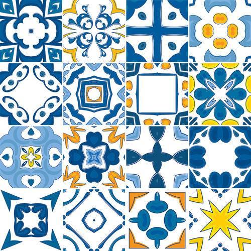 Adesivo de Azulejo - Ladrilho Hidráulico - N1369