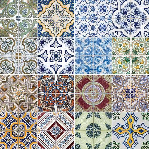 Adesivo de Azulejo - Ladrilho Hidráulico - N2326