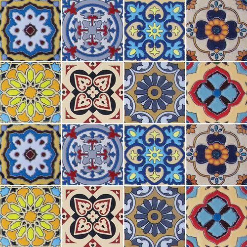 Adesivo de Azulejo - Ladrilho Hidráulico - N3316