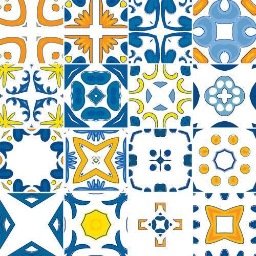 Adesivo de Azulejo - Ladrilho Hidráulico - N3370