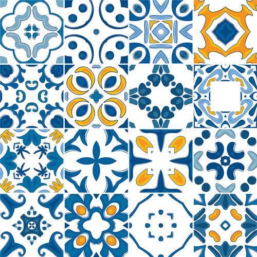 Adesivo de Azulejo - Ladrilho Hidráulico - N1377