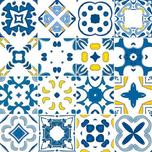Adesivo de Azulejo - Ladrilho Hidráulico - N1382