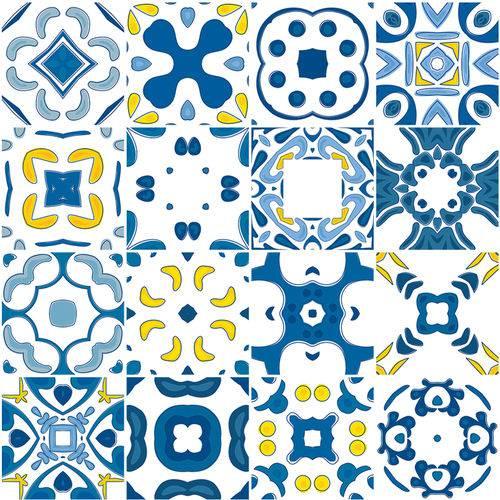 Adesivo de Azulejo - Ladrilho Hidráulico - N2381