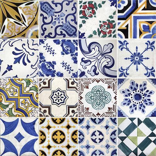 Adesivo de Azulejo - Ladrilho Hidráulico - N1322