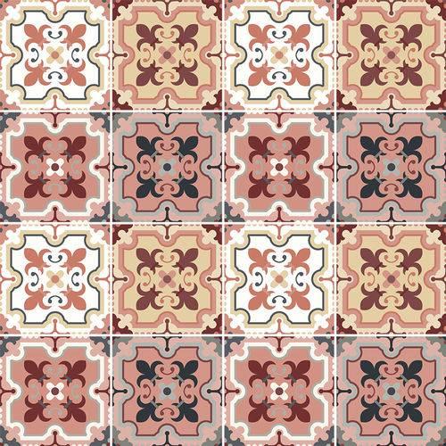 Adesivo de Azulejo - Ladrilho Hidráulico - N3347
