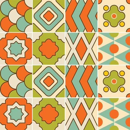 Adesivo de Azulejo - Ladrilho Hidráulico - N2357