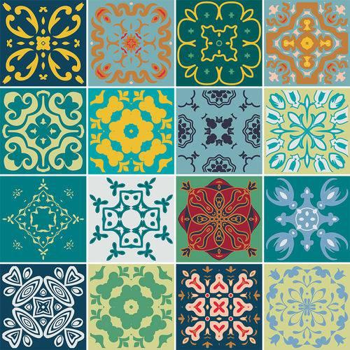Adesivo de Azulejo - Ladrilho Hidráulico - N3352