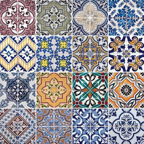 Adesivo de Azulejo - Ladrilho Hidráulico - N3327