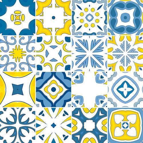 Adesivo de Azulejo - Ladrilho Hidráulico - N3378