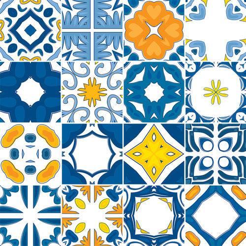 Adesivo de Azulejo - Ladrilho Hidráulico - N3372