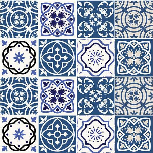 Adesivo de Azulejo - Ladrilho Hidráulico - N2385