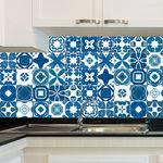 Adesivo de Azulejo - Ladrilho Hidráulico - X007Azme