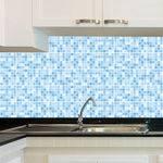 Adesivo de Azulejo - Pastilhas - X030Azme