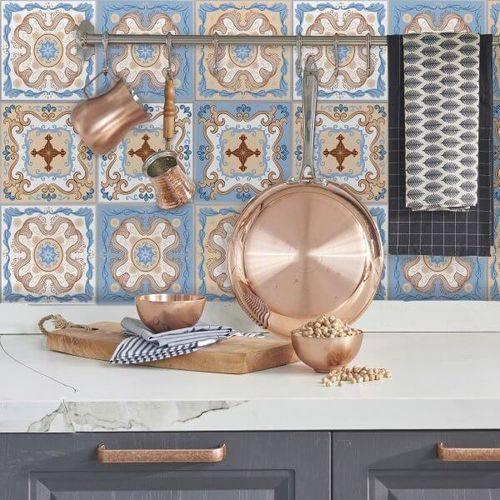 Adesivo de Azulejo Santa Isabel 20x20 Cm com 24un