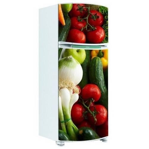 Adesivo de Geladeira Inteira Legumes 3