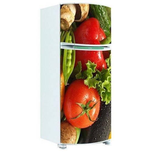Adesivo de Geladeira Inteira Legumes 1