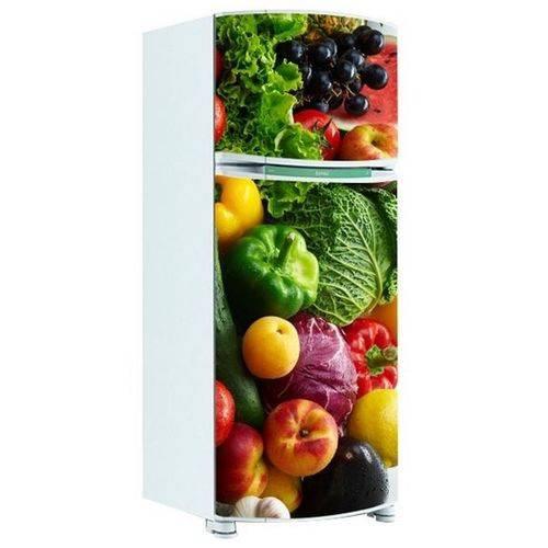 Adesivo de Geladeira Inteira Legumes 2