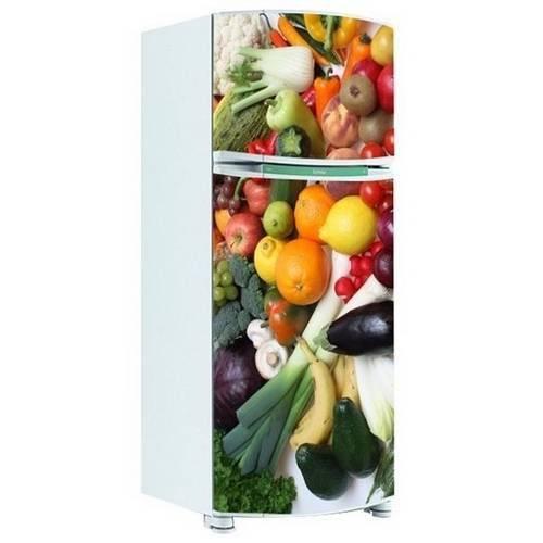 Adesivo de Geladeira Inteira Legumes 4