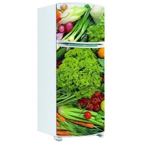 Adesivo de Geladeira Inteira Legumes 5