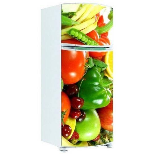 Adesivo de Geladeira Inteira Legumes 6