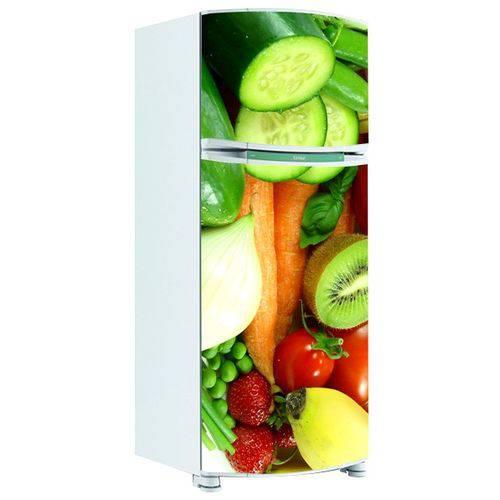 Adesivo de Geladeira Inteira Legumes 7
