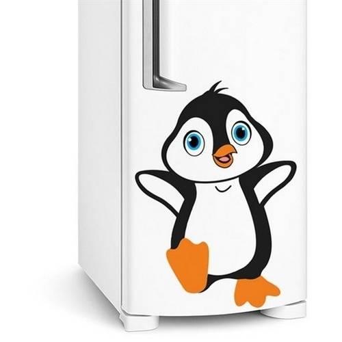Adesivo de Geladeira Pinguim Bebe