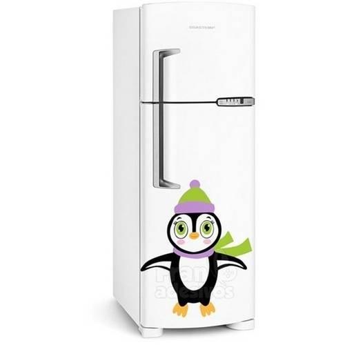 Adesivo de Geladeira Pinguim de Olhos Claros