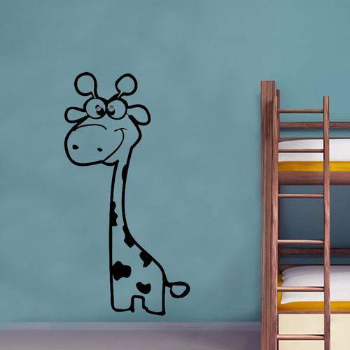 Adesivo de Parede Animais Girafinha