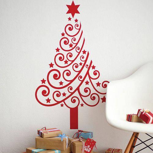 Adesivo de Parede Arvore de Natal