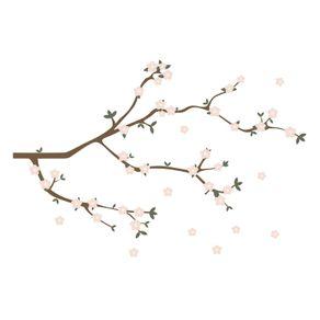 Adesivo de Parede Árvore para Sala Cantinho da Maia AF18056