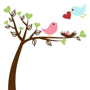 Adesivo de Parede Árvore para Sala Meu Cantinho de Amor - 1,00 X 1,00 AF18050
