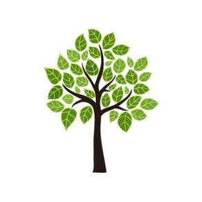 Adesivo de Parede Árvore Sala Ramificações - 1,20 X 0,96 AF18019