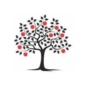 Adesivo de Parede Árvore Sala Red - 1,45 X 1,16 AF18035