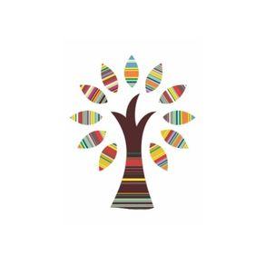Adesivo de Parede Árvore Sala Revigorante - 1,00 X 0,82 AF18008