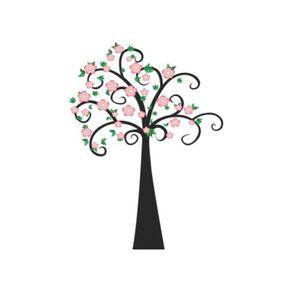 Adesivo de Parede Árvore Sala Tribal - 1,40 X 1,05 AF18036