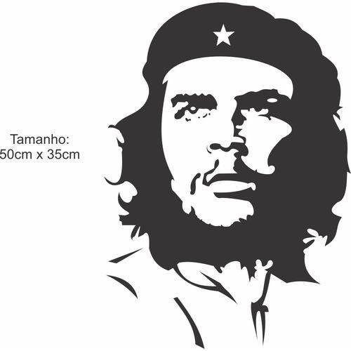 Adesivo de Parede Che Guevara Guerra Revolução