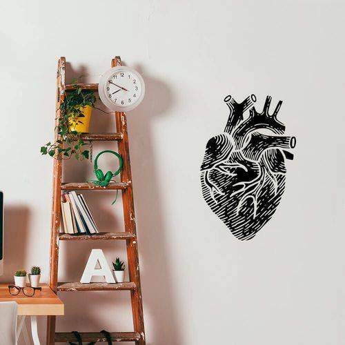 Adesivo de Parede Coração Humano