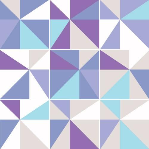 Adesivo de Parede Decorativo para Cozinha Stixx Azulejos Candy Colorido (123x61cm)