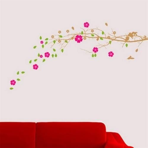 Adesivo de Parede Floral 03