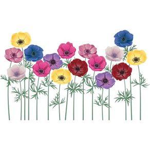 Adesivo de Parede Flores do Meu Jardim AF18049
