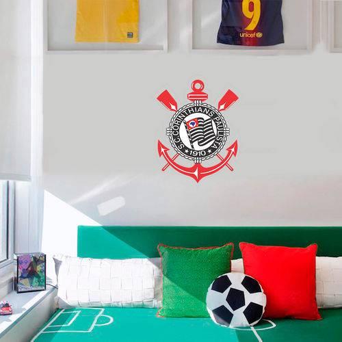 Adesivo de Parede Futebol Corinthians