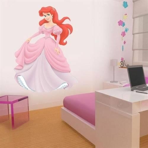 Adesivo de Parede Infantil Ariel