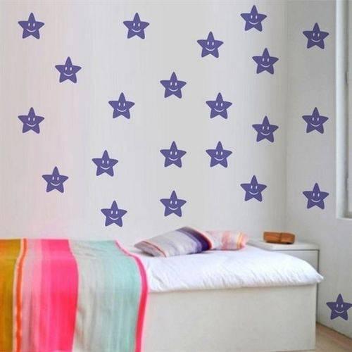 Adesivo de Parede Infantil Estrelas