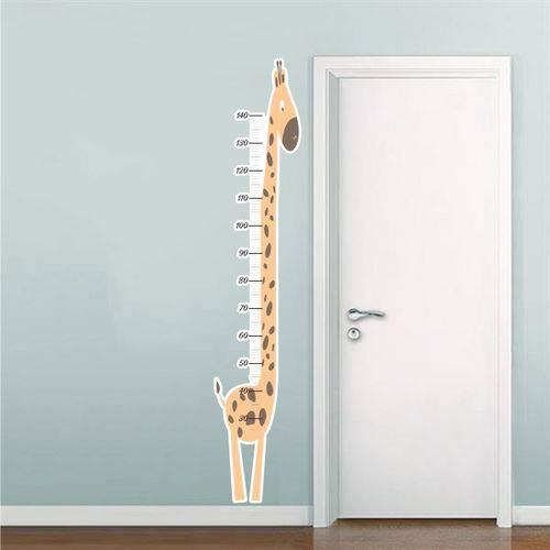 Adesivo de Parede Infantil Régua do Crescimento Girafa RE050