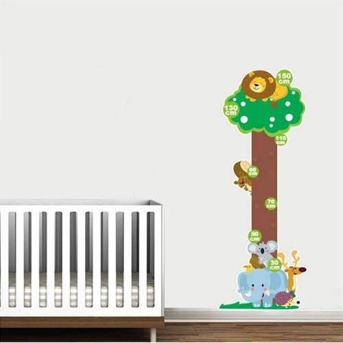 Adesivo de Parede Infantil Regua Turminha da Floresta