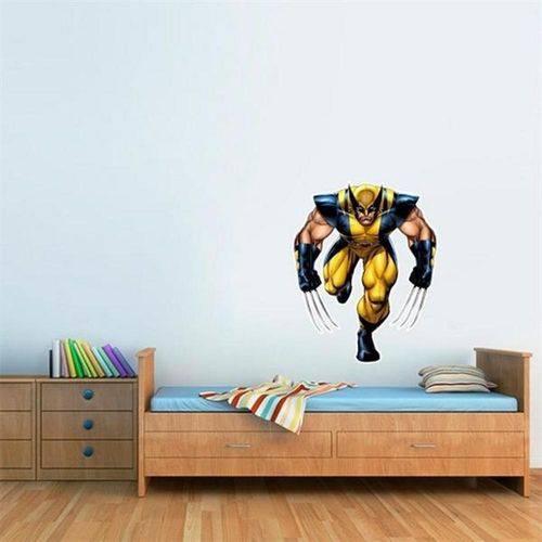 Adesivo de Parede Infantil Wolverine 1