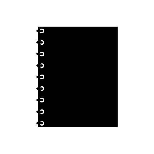 Adesivo de Parede Lousa Caderno 55x67cm