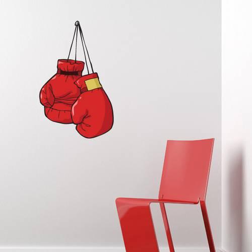 Adesivo de Parede - Luva de Boxe - 201es